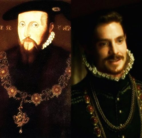Edward Seymour contrast with Tudors