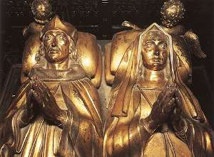 Henry VII and Elizabeth of York tomb at the Lady Chapel located in Westminster Abbey.