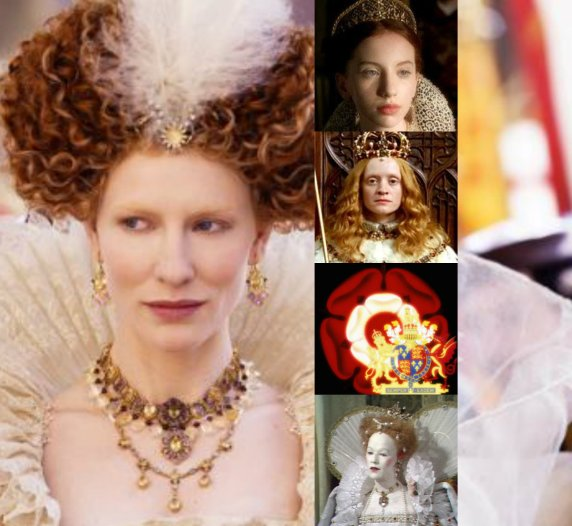 Elizabeth I collage