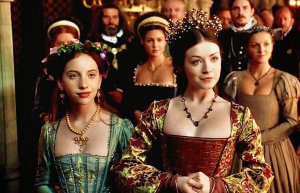 Mary and ass Elizabeth The Tudors1