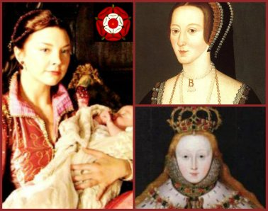 Anne Boleyn & her daughter