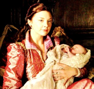 Anne Boleyn and baby Bess