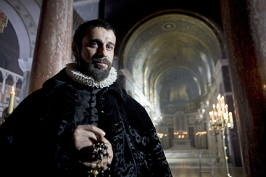 "Philip II's Black Legend is perpetuated in ""Elizabeth the Golden Age"" where he is played by Jordi Mola"