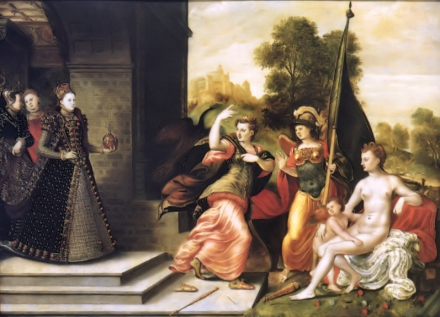 Eworth_Elizabeth_I_and_the_Three_Goddesses_1569