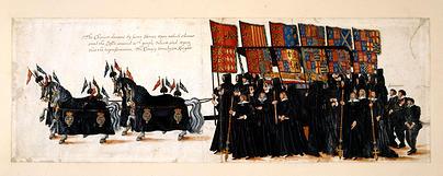 Elizabeth I Funeral Procession
