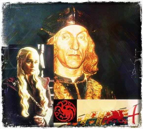 Henry VII Daenerys comparisons