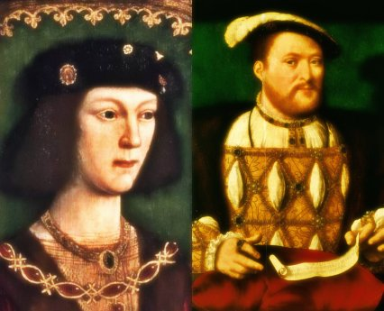 Henry VIII young and old