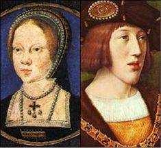 Mary Tudor and Charles V portraits