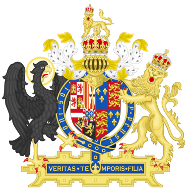 Mary I and Philip of Spain coat of arms