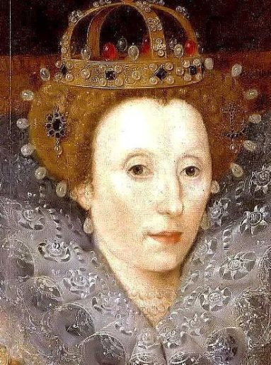 Elizabeth I close up