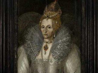 Elizabeth I rare old portrait
